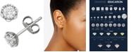 Macy's Diamond Stud Earrings (1/2 ct. t.w.) in 18k White Gold