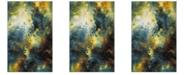 Safavieh Galaxy Blue and Multi 4' x 6' Area Rug