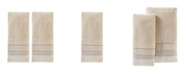 Saturday Knight Jude Fringe 2 Piece Hand Towel Set