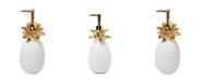 Saturday Knight Ltd. Gilded Pineapple Lotion Dispenser