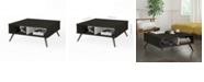 "Bestar Small Space Krom 29.5"" Storage Coffee Table"