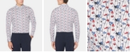 Perry Ellis Men's Micro-Floral Graphic Shirt