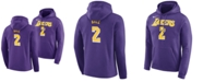 Nike Men's Lonzo Ball Los Angeles Lakers Icon Player Name & Number Essential Hoodie