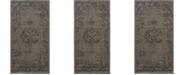 "Safavieh Palazzo Light Gray and Anthracite 2'6"" x 5' Area Rug"