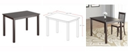 """Corliving Distribution CorLiving Stained 43"""" Wide Dining Table"""