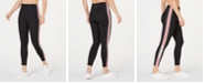 Calvin Klein Varsity-Stripe High-Waist Leggings