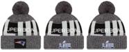 New Era New England Patriots Super Bowl LIII Participant Pom Knit Hat