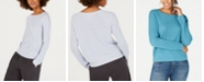 Eileen Fisher Round-Neck Sweater, Regular & Petite
