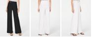 INC International Concepts I.N.C. Petite Side-Belt Wide-Leg Pants, Created for Macy's