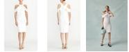RACHEL Rachel Roy Cold Shoulder Ruffle Halter Dress