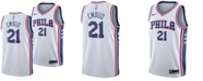 Nike Men's Joel Embiid Philadelphia 76ers Association Swingman Jersey