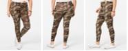 Planet Gold Trendy Plus Size Camo-Print Leggings