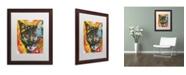 """Trademark Global Dean Russo 'Intent' Matted Framed Art - 20"""" x 16"""" x 0.5"""""""