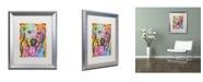 "Trademark Global Dean Russo 'Loving Joy' Matted Framed Art - 20"" x 16"" x 0.5"""