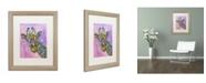 """Trademark Global Dean Russo 'Giraffe' Matted Framed Art - 20"""" x 16"""" x 0.5"""""""