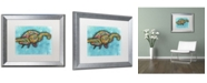 "Trademark Global Dean Russo 'Turtle' Matted Framed Art - 20"" x 16"" x 0.5"""