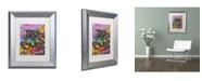 """Trademark Global Dean Russo '13' Matted Framed Art - 14"""" x 11"""" x 0.5"""""""