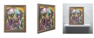 "Trademark Global Dean Russo '16' Ornate Framed Art - 20"" x 16"" x 0.5"""