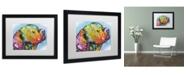 """Trademark Global Dean Russo '24' Matted Framed Art - 16"""" x 20"""" x 0.5"""""""
