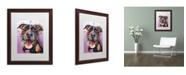 "Trademark Global Dean Russo 'Ms Understood' Matted Framed Art - 20"" x 16"" x 0.5"""