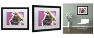 """Trademark Global Dean Russo 'I'm a Pit Bull' Matted Framed Art - 16"""" x 20"""" x 0.5"""""""