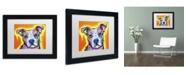"Trademark Global Dean Russo 'A Serious Pit' Matted Framed Art - 11"" x 14"" x 0.5"""
