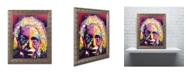 "Trademark Global Dean Russo 'Einstein II' Ornate Framed Art - 20"" x 16"" x 0.5"""