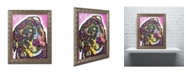 "Trademark Global Dean Russo 'Rottie' Ornate Framed Art - 20"" x 16"" x 0.5"""