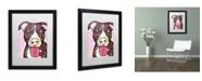"""Trademark Global Dean Russo 'Bliss' Matted Framed Art - 16"""" x 20"""" x 0.5"""""""