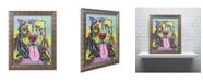 "Trademark Global Dean Russo 'Rooster' Ornate Framed Art - 20"" x 16"" x 0.5"""