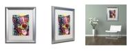 """Trademark Global Dean Russo 'Dak 1' Matted Framed Art - 20"""" x 16"""" x 0.5"""""""