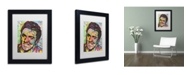 "Trademark Global Dean Russo 'Elvis' Matted Framed Art - 11"" x 14"" x 0.5"""