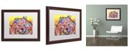 """Trademark Global Dean Russo 'Benzi' Matted Framed Art - 20"""" x 16"""" x 0.5"""""""