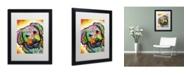 """Trademark Global Dean Russo 'Daisy' Matted Framed Art - 16"""" x 20"""" x 0.5"""""""