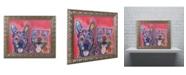 "Trademark Global Dean Russo 'Latte Hijiki' Ornate Framed Art - 20"" x 16"" x 0.5"""