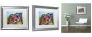 """Trademark Global Dean Russo 'Reagan' Matted Framed Art - 20"""" x 16"""" x 0.5"""""""