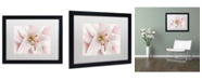 """Trademark Global Cora Niele 'Pink Lily' Matted Framed Art - 16"""" x 20"""" x 0.5"""""""