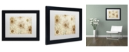 """Trademark Global Cora Niele 'Vintage Daisies' Matted Framed Art - 11"""" x 14"""" x 0.5"""""""