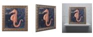 "Trademark Global Color Bakery 'Maritime Blues I' Ornate Framed Art - 11"" x 0.5"" x 11"""