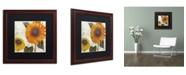 """Trademark Global Color Bakery 'Sundresses II' Matted Framed Art - 16"""" x 0.5"""" x 16"""""""