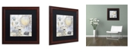 "Trademark Global Color Bakery 'Beach House II' Matted Framed Art - 16"" x 0.5"" x 16"""