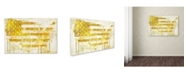 "Trademark Global Color Bakery 'American Dream I' Canvas Art - 19"" x 2"" x 12"""