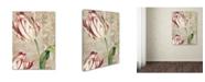 "Trademark Global Color Bakery 'Tulips' Canvas Art - 14"" x 2"" x 19"""