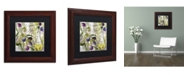 """Trademark Global Color Bakery 'Colors Of Tuscany II' Matted Framed Art - 11"""" x 0.5"""" x 11"""""""