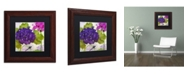 """Trademark Global Color Bakery 'Gaia I' Matted Framed Art - 11"""" x 0.5"""" x 11"""""""