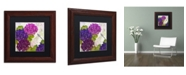 "Trademark Global Color Bakery 'Gaia II' Matted Framed Art - 11"" x 0.5"" x 11"""