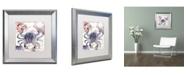 "Trademark Global Color Bakery 'Oceania II' Matted Framed Art - 16"" x 0.5"" x 16"""