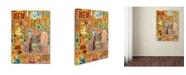 "Trademark Global Colin Johnson 'Primary' Canvas Art - 47"" x 35"" x 2"""
