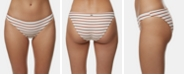 O'Neill Juniors' Striped Cheeky Bikini Bottoms