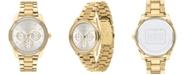 COACH Women's Preston Gold-Tone Bracelet Watch 36mm